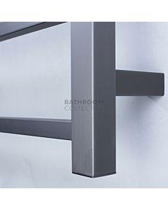 Radiant - Square 6 Bar Towel Ladder 830H x 700W GUNMETAL GREY