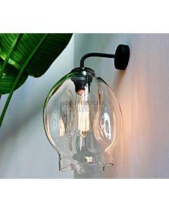 Soktas - Droplet Hand Blown Wall Light Clear Glass