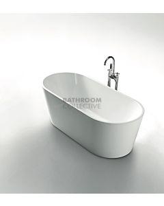 Modern - Grenada 1500mm Round Freestanding Acrylic Bathtub