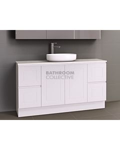Timberline - Nevada Classic 1500mm Floor Standing Vanity with 20mm Meganite Top and Ceramic Above Counter Basin