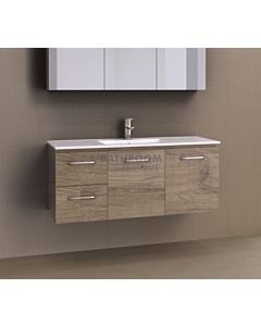 Timberline - Nevada 1200mm Wall Hung Vanity with Acrylic Top