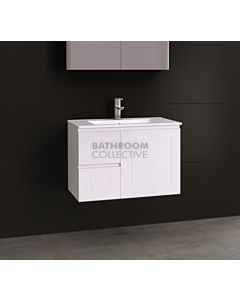 Timberline - Nevada Classic 750mm Wall Hung Vanity with Ceramic Top