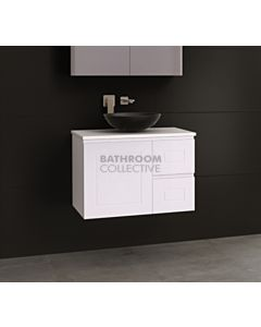 Timberline - Nevada Classic 750mm Wall Hung Vanity with 20mm Meganite Top and Ceramic Above Counter Basin