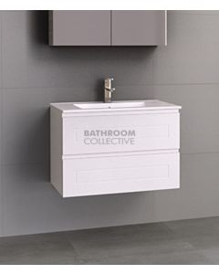 Timberline - Nevada Plus Classic 750mm Wall Hung Vanity with Ceramic Top