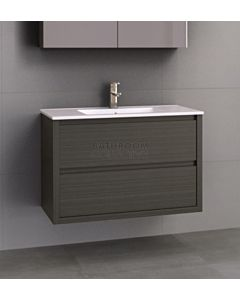 Timberline - Grange 900mm Wall Hung Vanity with Acrylic Top