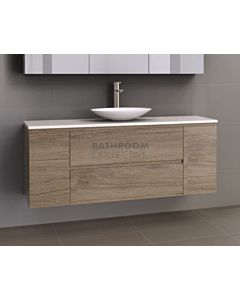Timberline - Marshall 1500mm Wall Hung Vanity with 20mm Meganite Top and Ceramic Above Counter Basin