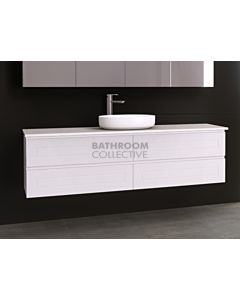 Timberline - Nevada Plus Classic 1800mm Wall Hung Vanity with 20mm Meganite Top and Ceramic Above Counter Basin