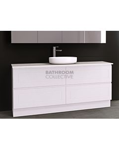 Timberline - Nevada Plus Classic 1800mm Floor Standing Vanity with 20mm Meganite Top and Ceramic Above Counter Basin