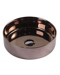Collections - Sasso 355mm Posh Gold Counter Top Round Basin