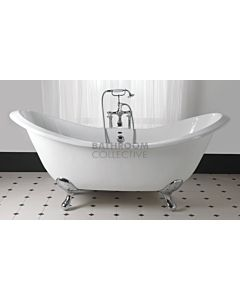 Imperial - Sheraton Slipper 1800mm Cast Iron Ball Foot Bath