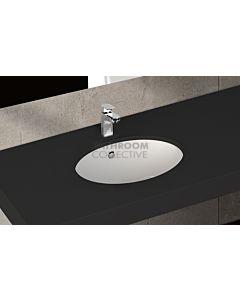 Paco Jaanson - Isvea Soluzione 460mm Round Under Counter Basin Gloss White