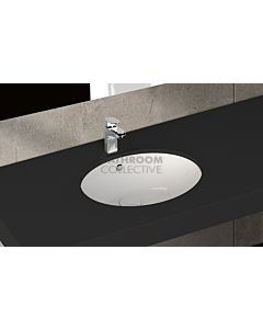 Paco Jaanson - Isvea Soluzione 520mm Round Under Counter Basin Gloss White