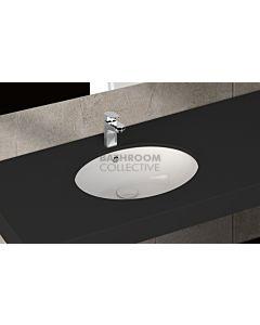 Paco Jaanson - Isvea Soluzione 570mm Round Under Counter Basin Gloss White