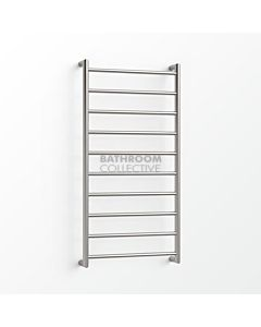 Avenir - Form 1000x480mm Heated Towel Ladder - Brushed Stainless Steel