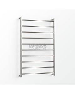 Avenir - Form 1000x600mm Heated Towel Ladder - Brushed Stainless Steel