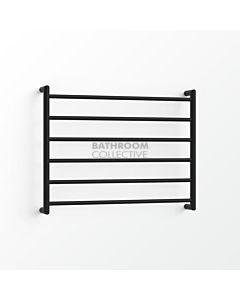 Avenir - Form 600x750mm Towel Ladder - Matte Black