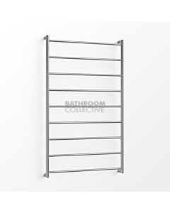 Avenir - Abask 1300x750mm Heated Towel Ladder - Mirror Stainless Steel