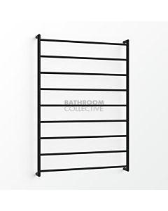 Avenir - Abask 1300x900mm Towel Ladder - Matte Black