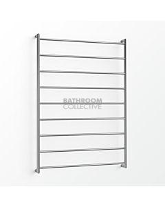 Avenir - Abask 1300x900mm Heated Towel Ladder - Mirror Stainless Steel