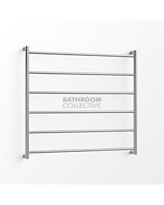 Avenir - Abask 850x900mm Towel Ladder - Brushed Stainless Steel