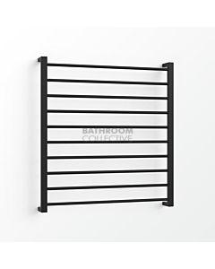 Avenir - Base 1000x900mm Towel Ladder - Matte Black