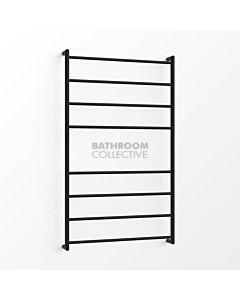 Avenir - Fluid 1300x750mm Towel Ladder - Matte Black