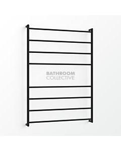 Avenir - Fluid 1300x900mm Towel Ladder - Matte Black