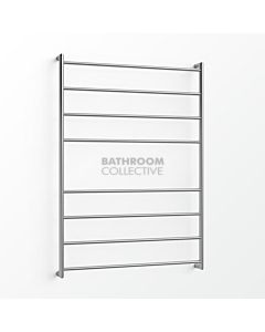 Avenir - Fluid 1300x900mm Heated Towel Ladder - Mirror Stainless Steel