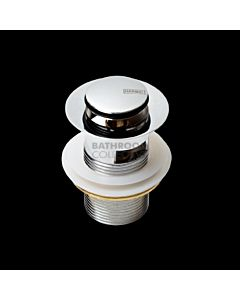 Harbic Brassware - 32mm Overflow Pop Up Waste with 80mm Tail