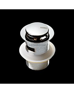 Harbic Brassware - 40mm Overflow Pop Up Waste with 80mm Tail
