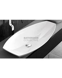 Paco Jaanson - Urban Cata 800mm Bench Mounted Basin Gloss White