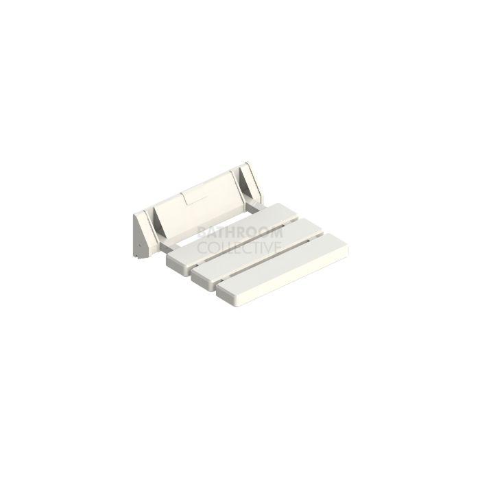 Emroware - Shower Seat White 320mm wide x 325mm deep