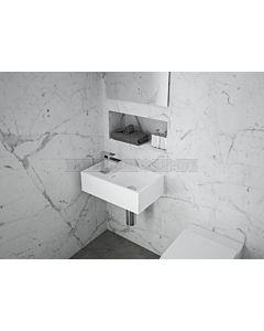 Omvivo - CDesign Micro 485 Wall Hung & Bench Basin (Right Hand Bowl)