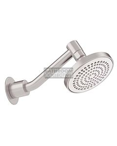 Conserv - Streamjet XL 130mm Shower Rose & Upswept Arm SATIN CHROME