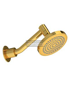 Conserv - Streamjet XL 130mm Shower Rose & Upswept Arm GOLD