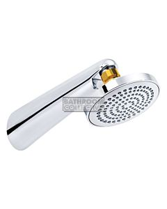 Conserv - Streamjet XL 130mm Shower Rose & Grand Arm CHROME/GOLD