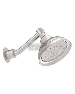 Conserv - Paddington/Upswept Arm Shower SATIN CHROME