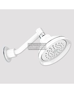 Conserv - Paddington/Upswept Arm Shower WHITE/CHROME