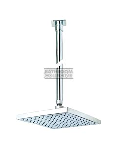 Conserv - Quewb/350mm Ceiling Arm Square Rainshower