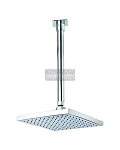 Conserv - Quewb/200mm Ceiling Arm Square Rainshower