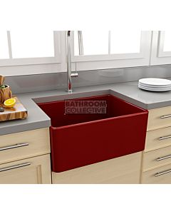 Paco Jaanson - Bocchi Casa Ceramic Kitchen Butler Sink 600mm GLOSS RED