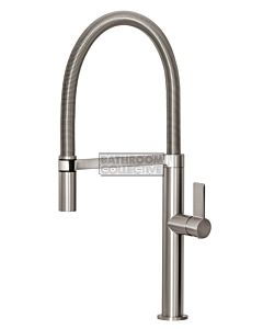 Phoenix Tapware - Prize Flexible Coil Sink Mixer BRUSHED NICKEL