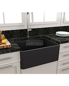 Paco Jaanson - Bocchi Casa Ceramic Kitchen Butler Sink 600mm MATT ANTHRACITE