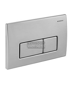 Geberit - Kappa50 Mechanical Dual Flush Button/Access Plate Stainless Steel (Metal)