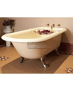 Yoki - 6' Boston Clawfoot Cast Iron Antique Bath 1800mm
