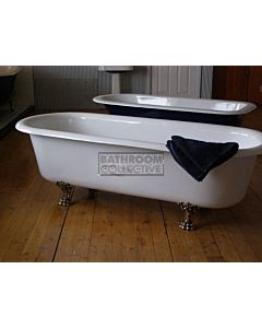 "Yoki - 6'6"" Double Ender Clawfoot Cast Iron Antique Bath 1980mm"