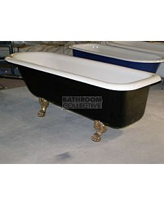 "Yoki - 6'8"" Carrington Clawfoot Cast Iron Antique Bath 2030mm"