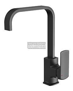 Phoenix Tapware - Teva Sink Mixer 200mm Squareline Matte Black