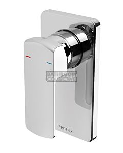Phoenix Tapware - Teva Shower/Wall Mixer Set Chrome