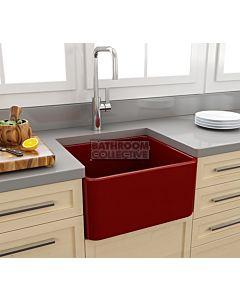 Paco Jaanson - Bocchi Casa Ceramic Kitchen Butler Sink 500mm GLOSS RED